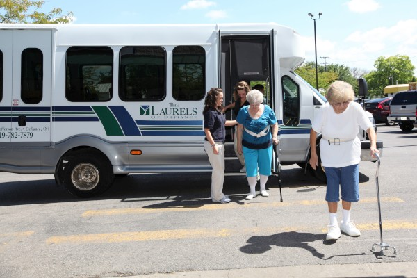 The Laurels of Defiance: Wheelchair Accessible Bus
